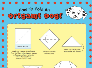 oragami dog Opens in new window